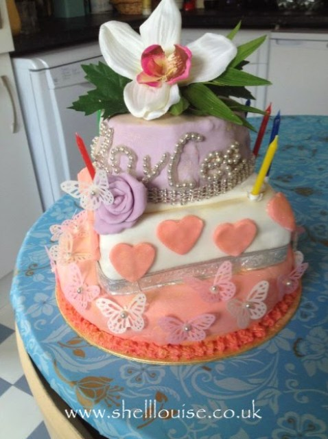 Birthday Cakes - this is KayCee's