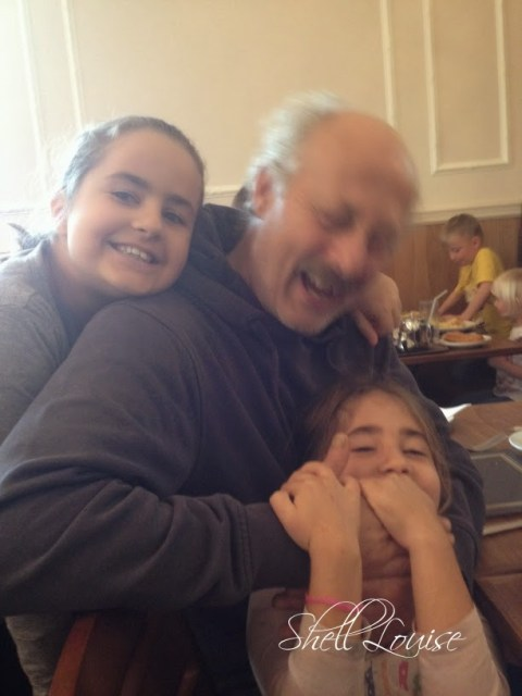 My day in photos - Anthony, KayCee and Ella at the Wetherby Whaler