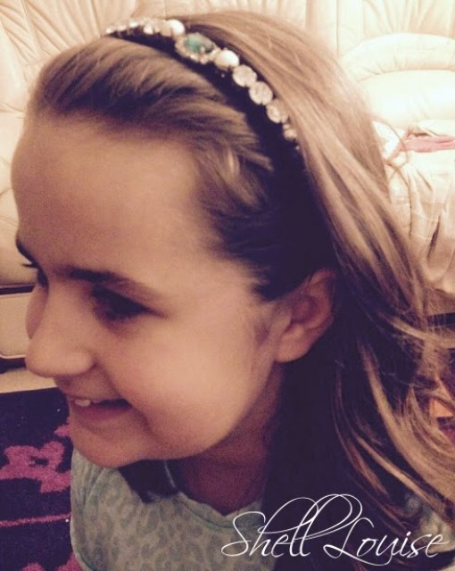 Rose Gal review - Bejewelled headband