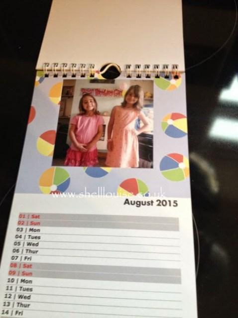 Christmas presents - August's calendar photograph