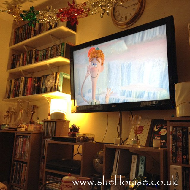 Boxing Day photos- We watched the animated version of Elf in the morning