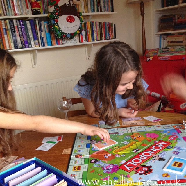 Boxing Day - We played Ella's Moshi Monopoly
