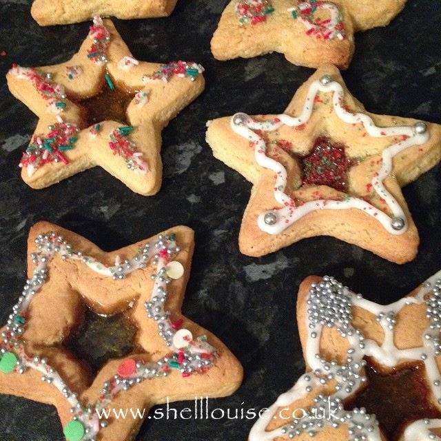 Busy week - Star Christmas cookies