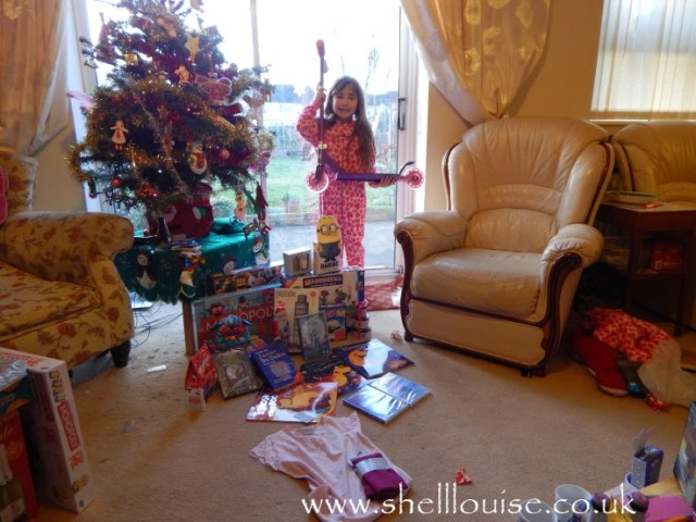 Ella and her presents