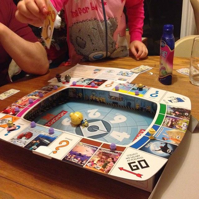 PLaying Minions Monopoly