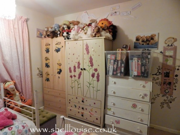 Bedroom plans - Girls room after