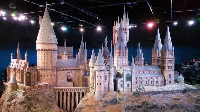 Harry Potter Studio Tour - Hogwarts model