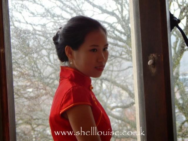 wedding reception - Elaine, the bride