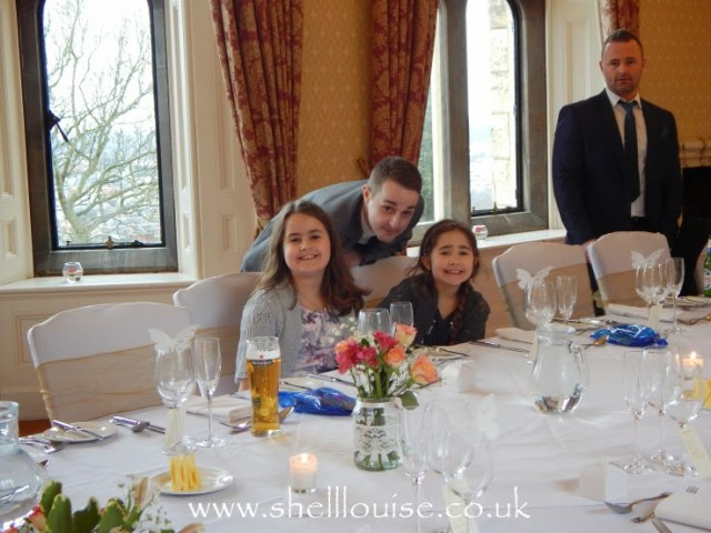 Wedding reception - Jervais, Kaycee, Ella and Jourdain