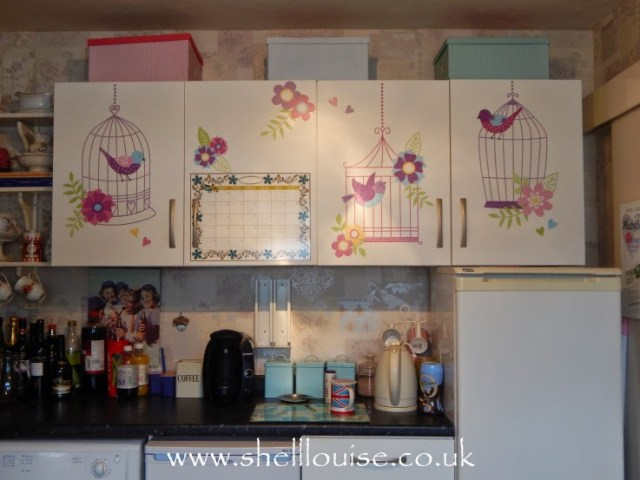 Wallpops wall stickers - kitchen after