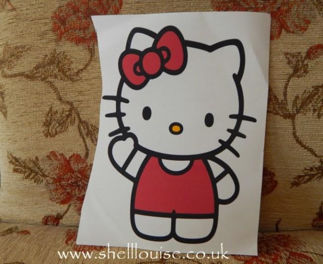 designing t-shirts - Hello Kitty transfer