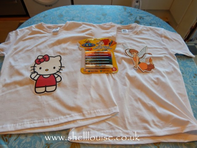 designing t-shirts - t-shirts, transfers and fabric paints