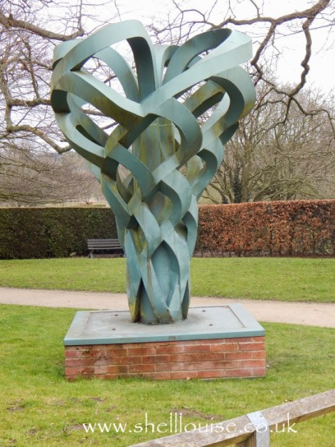 Sculptures at Rufford Abbey