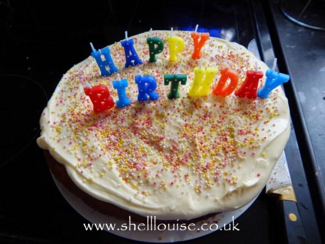 Aiden's birthday cake