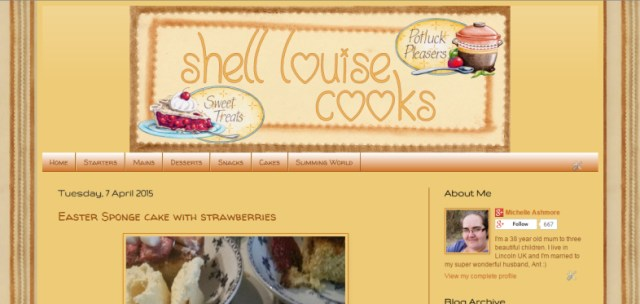 My new cooking blog