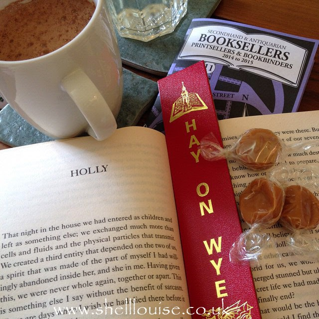 Hot drink, a good book and some sweets