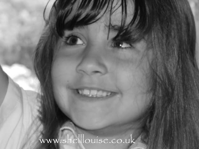 Black and white photo of Ella