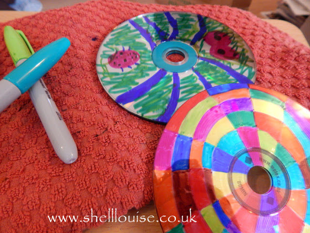 Decorated CDs