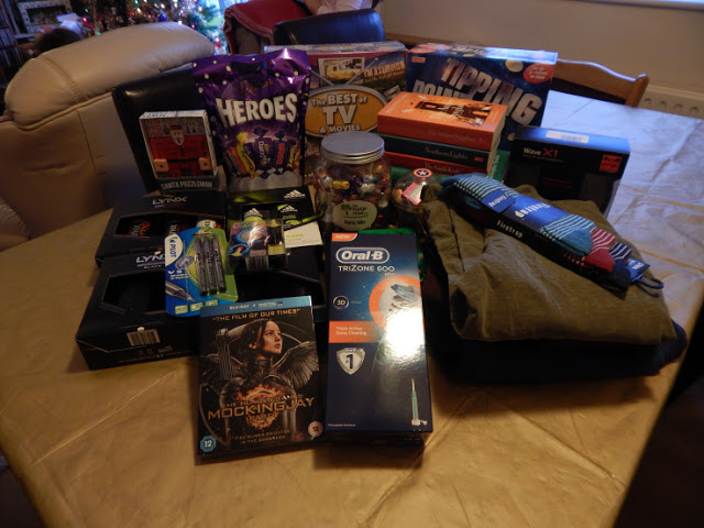 Aiden's presents