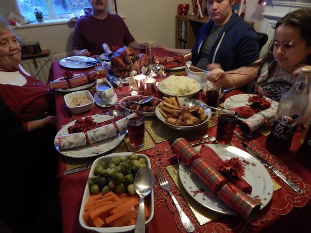 Christmas Day - Christmas dinner