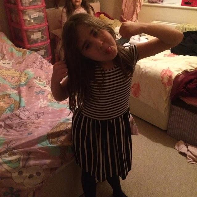 Ella posing