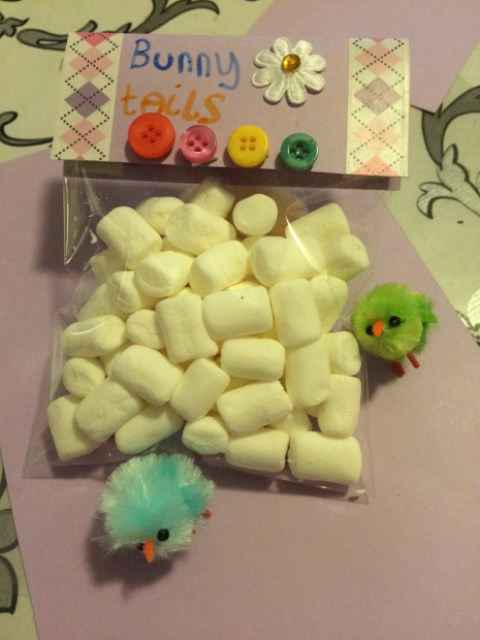 Ella's bunny tails - Easter activity