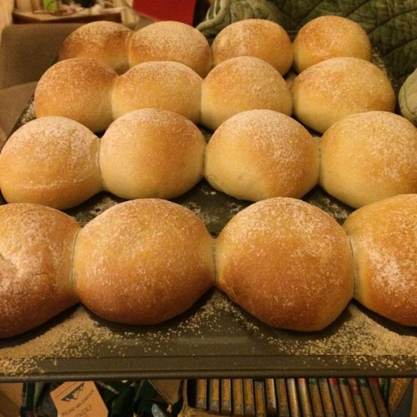 Home made bread rolls Daily fresh bread