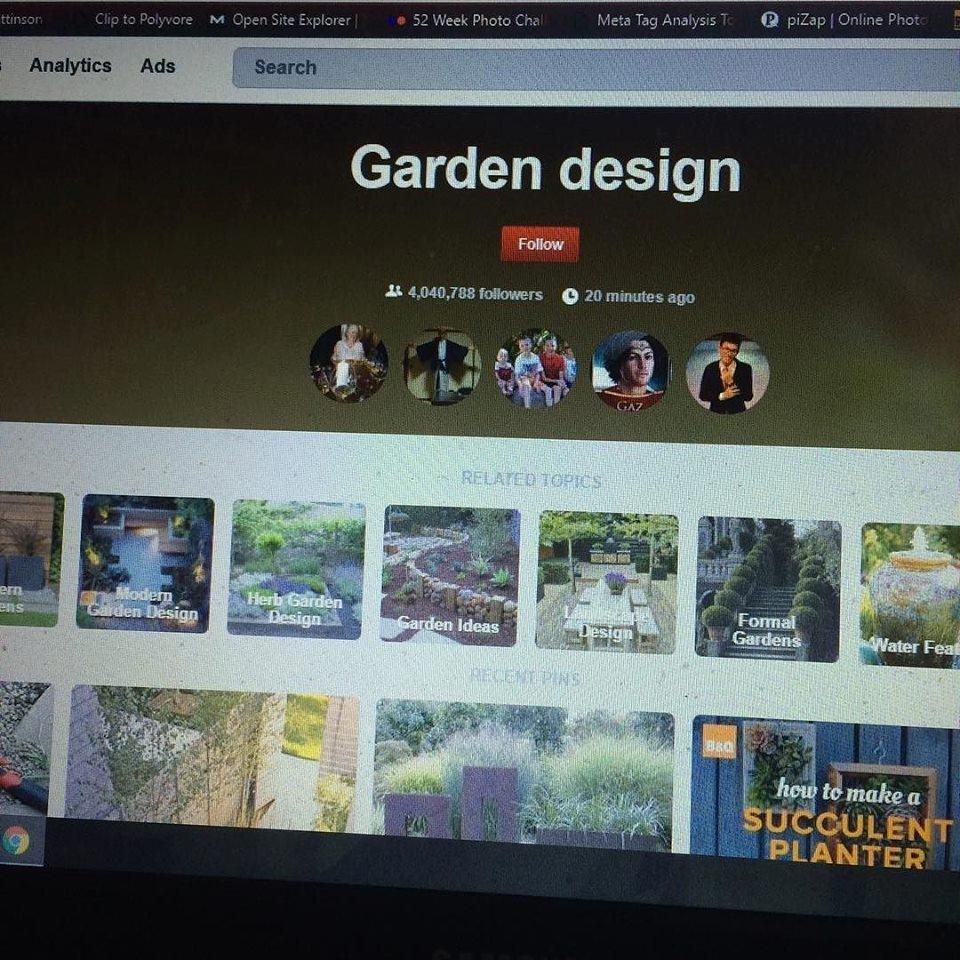 Pinterest garden design ideas