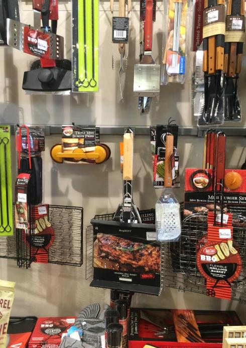 HomeSense BBQ tools