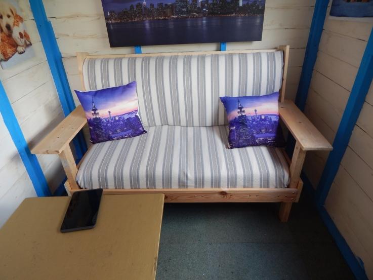 Handmade sofa #PimpMyShed
