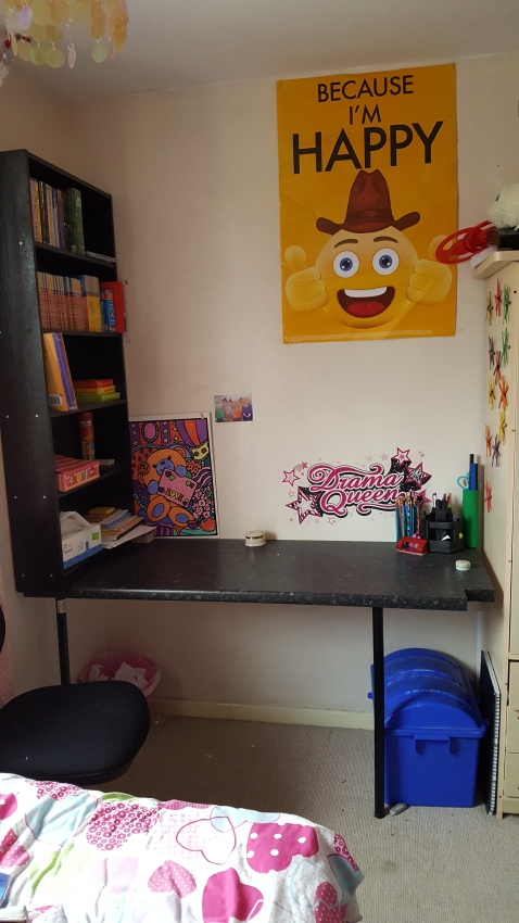 homework station makeover challenge