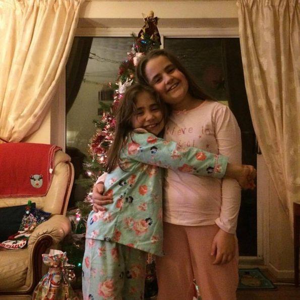 favourite Instagram photo Kaycee and Ella Christmas Eve