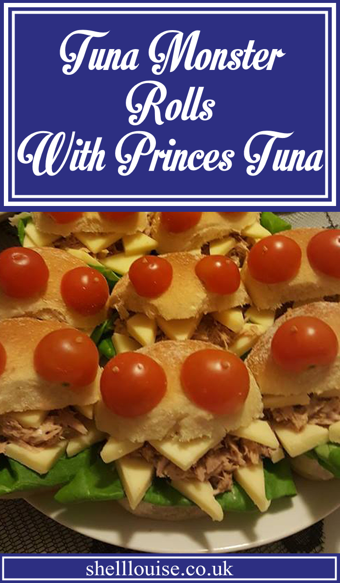 Tuna monster rolls with Princes tuna