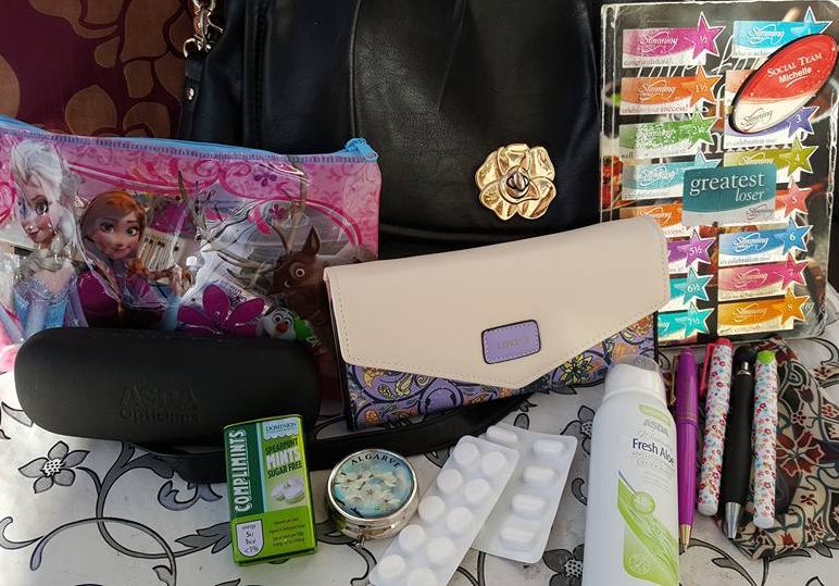 My handbag contents