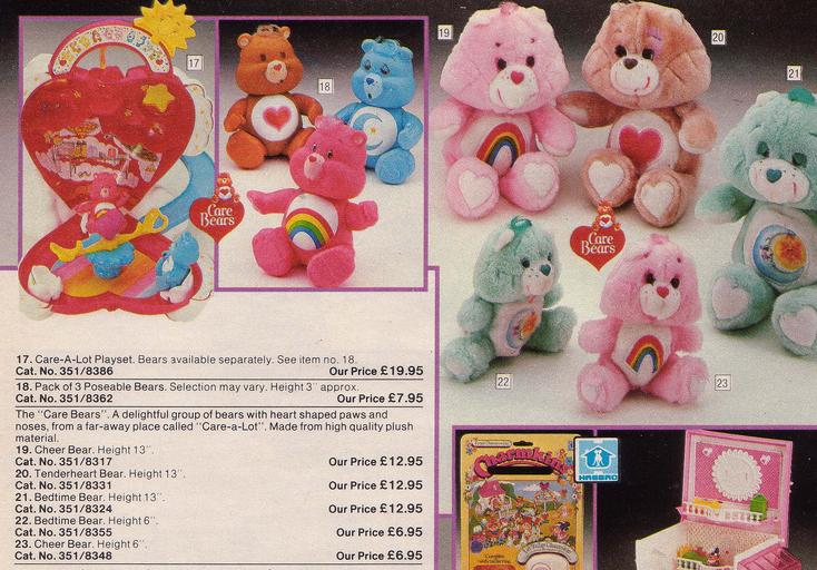 Argos catalogue Care Bear