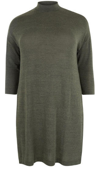 autumn wardrobe Top Shop longline funnel neck jumper Love the Sales