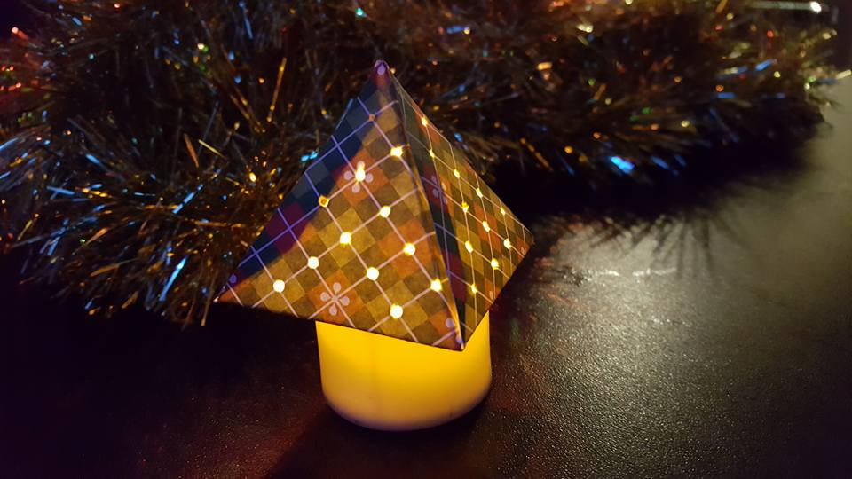 Tealight Christmas Trees