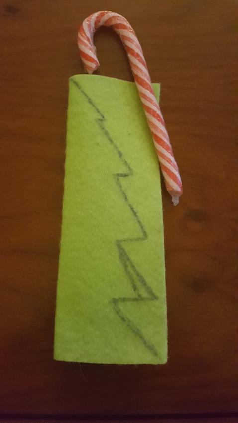 Candy Cane Christmas Tree
