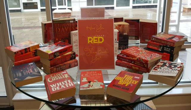 Have you 'RED' this yet? book display