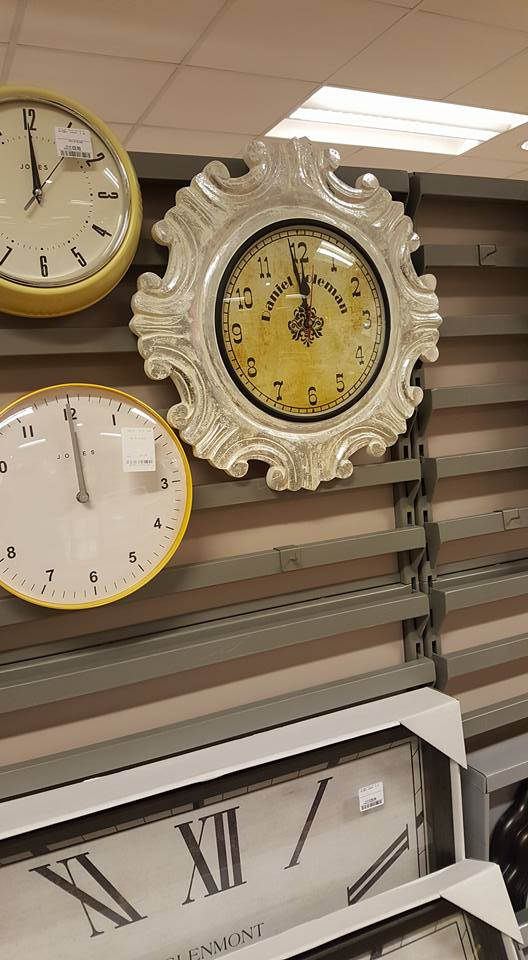 Wall clock - HomeSense refresh your home