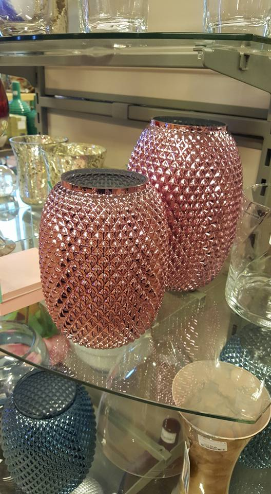 Pink vases - HomeSense refresh your home
