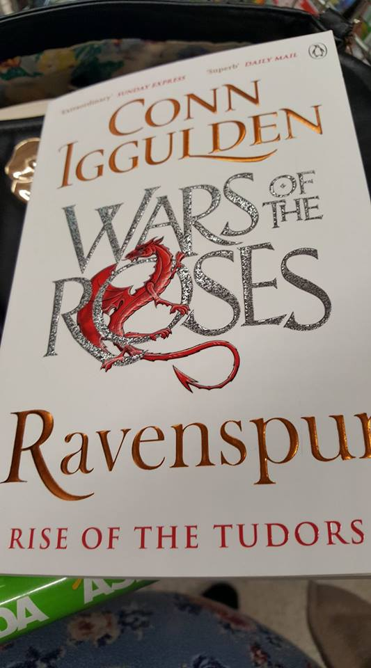Conn Iggulden Wars of the roses Ravenspur