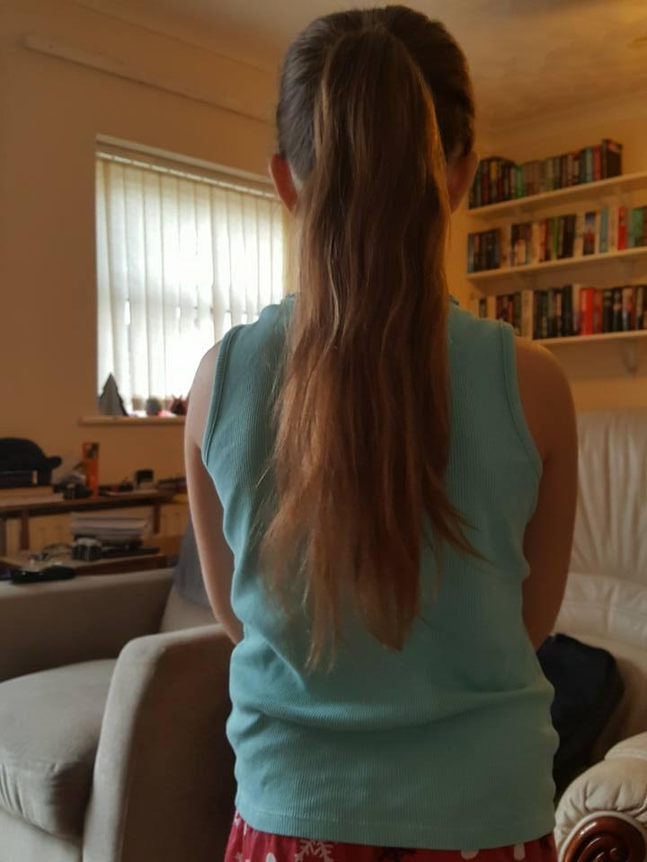 25th February Ella ponytail