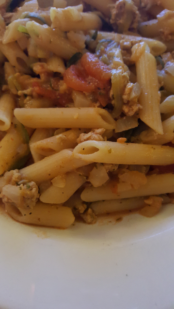 Slimming World Presto Pork and Fennel Pasta