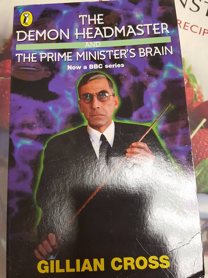 March 25th The Demon Headmaster book