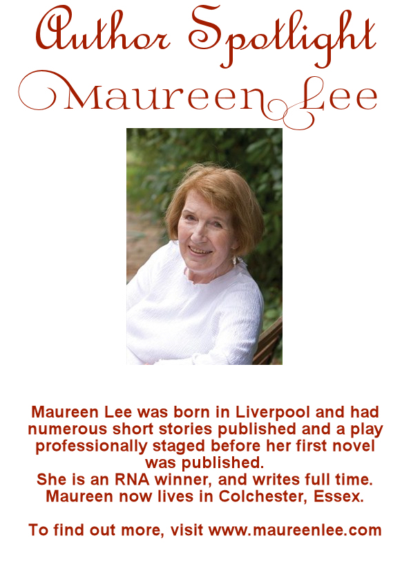 Maureen Lee Author Spotlight Book Display Poster