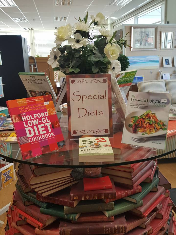Special diets book display