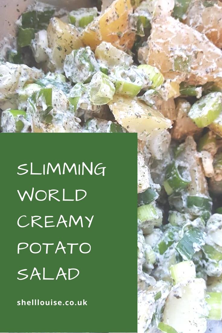 Slimming World Creamy Potato Salad