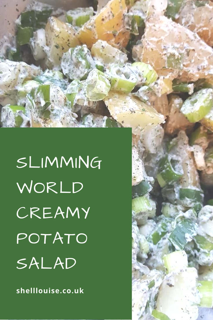 Slimming World Creamy Potato Salad