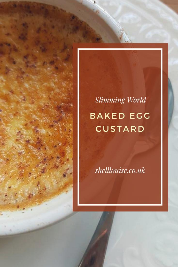 Slimming World Baked Egg Custard